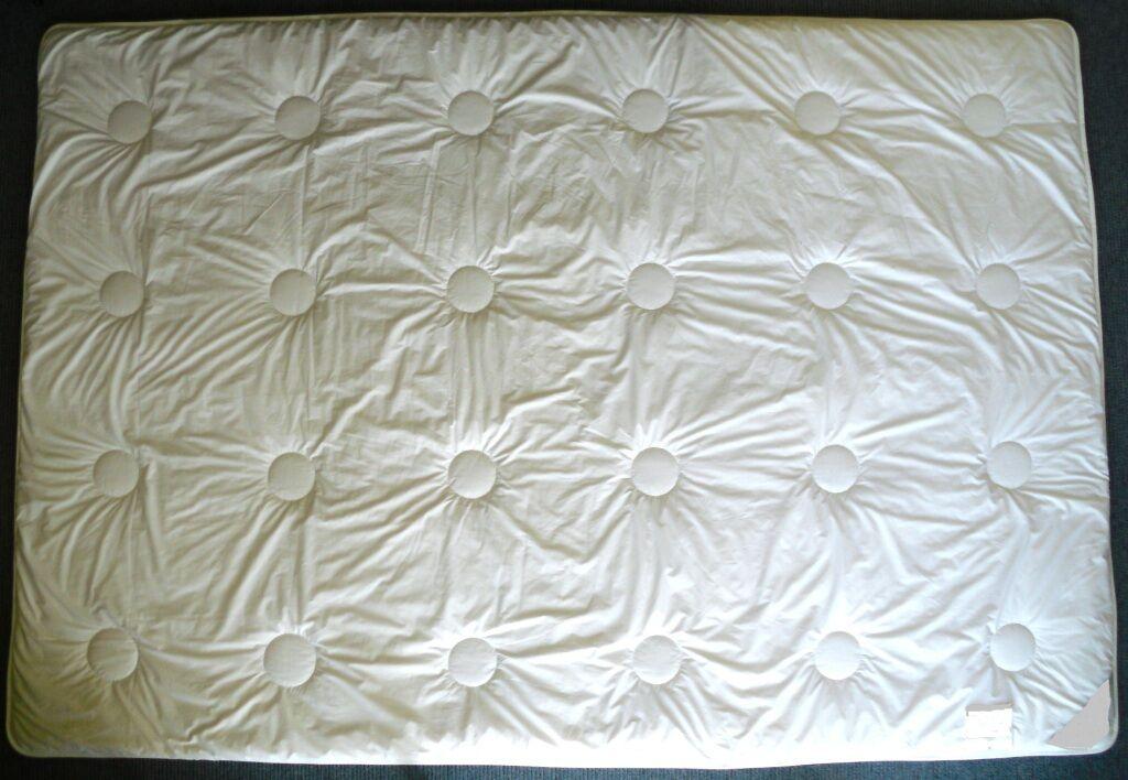Inverno soffitto di alta qualità Duo CACHEMIRE 135x200 cm. trapunta camouflage, diverse quantità di riempimento