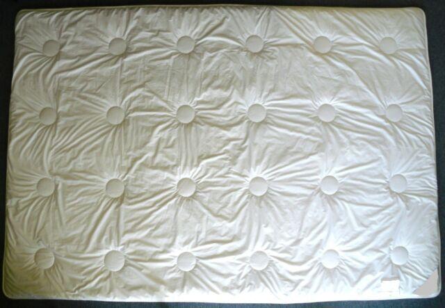 Winterdecken Hochwertig Duo Cashmere 135x200 cm. Gesteppt, Verschieden Füllmenge