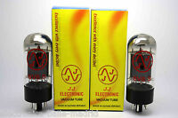 NEW JJ TESLA 6V6S MATCHED PAIR VACUUM TUBE AMP TESTED - VALVE OF VACUUM - 6V6