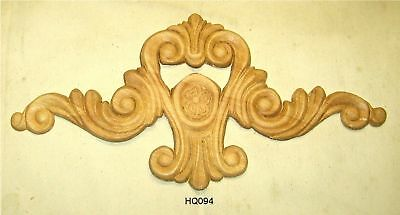"""WOOD EMBOSSED APPLIQUE 8/""""H X 8/""""W      HQ002"""