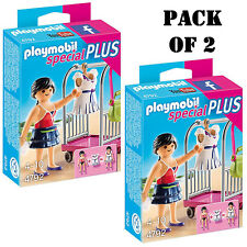 "Pack of (2) New! Playmobil 4792 Clothing Rack Building Kit ""Latest Fashion"" 4-10"