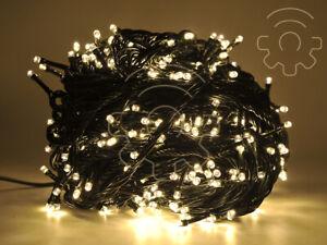 serie-100-luci-di-Natale-a-led-bianco-caldo-9-mt-catena-con-8-giochi-per-esterno