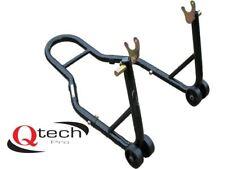 Qtech Motorcycle Motorbike Rear Wheel Vee PADDOCK STAND for Bobbins Workshop