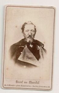 Vintage-CDV-Leonhard-Graf-von-Blumenthal-Prussian-general