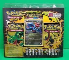 Sealed New Rare Pokemon BW Dragon Vault Booster Packs Blister 3 Booster packs