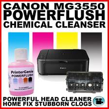 Canon PIXMA MG3550 Impresora: Kit de limpieza de cabezales: Boquilla al ras del cabezal de impresión desatascador