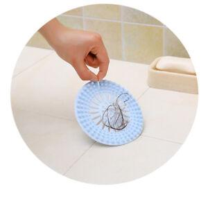 Kitchen-Sink-Drain-Silicone-Hair-Strainer-Shower-Filter-Bathroom-Stopper-Catcher