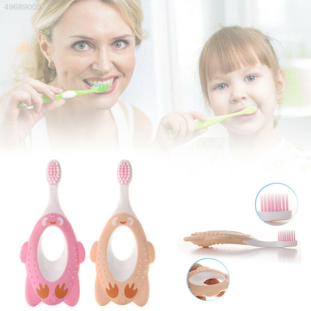 63A1 Random Color Baby Toothbrush Handle Brushes For Clean Teeth Toddler Trainin