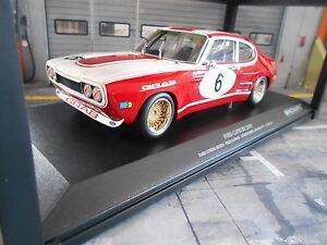 Ford-Capri-MKI-RS-2600-rs2600-colonia-tumba-Ludwig-1973-nurburgring-Minichamps-1-18