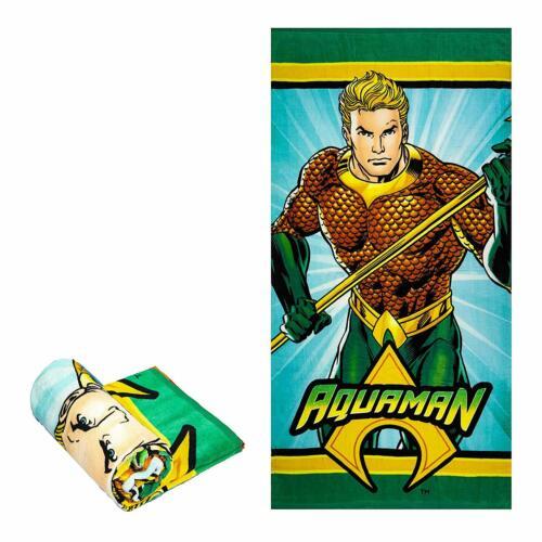 JPI Licensed DC Comics Aquaman Bath//Pool//Beach Towel Aquaman Emblem