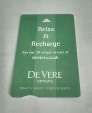De Vere Venues Hotel Key Card