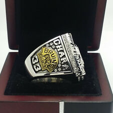 Solid 2011 Boston Bruins Hockey Stanley Cup Championship Ring 8-14Size CHARA