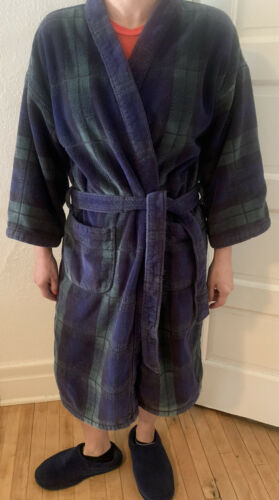 Vintage Men Linen N Things Heavy Terry Cloth Robe