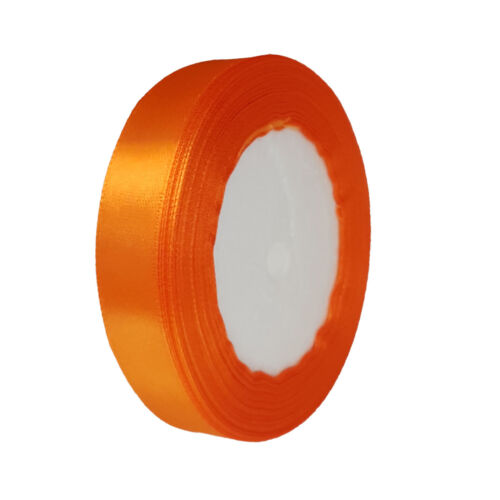 Premium Quality Satin Ribbon Roll Width 6 and 10 mm Poison Wrap Christmas 22 metres