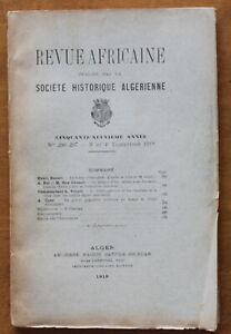 1918-Revue-Africaine-Societe-Historique-Algerienne-N-296-297