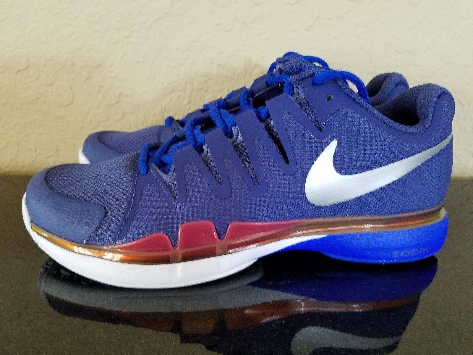 Nike Zoom  Vapor 9.5 Tour Tennis scarpe blu Roland Garros 2016  vendita di offerte