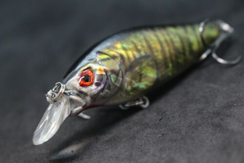 8.9cm 11.1ml Elritze Wobbler Tight Wackel Lebensechte Fischen Köder HC735