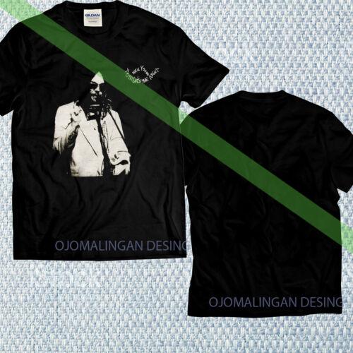 New Limited Gildan Neil Young Men/'s Tonight/'s The Night Organic Slim Fit T-shirt