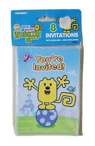 Invitations Happy Jungle Unisex 8 Count