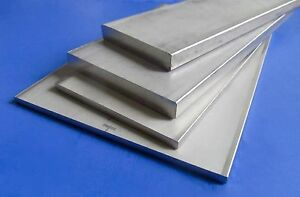 "304 Stainless Steel FLAT Stock 1/2"" x 3"" x 10"" Long. *GREAT PRICE*"