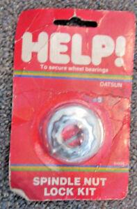 Help-04999-Spindle-Nut-Lock-Kit-For-1971-1983-Datsun-Nissan-RWD-Models