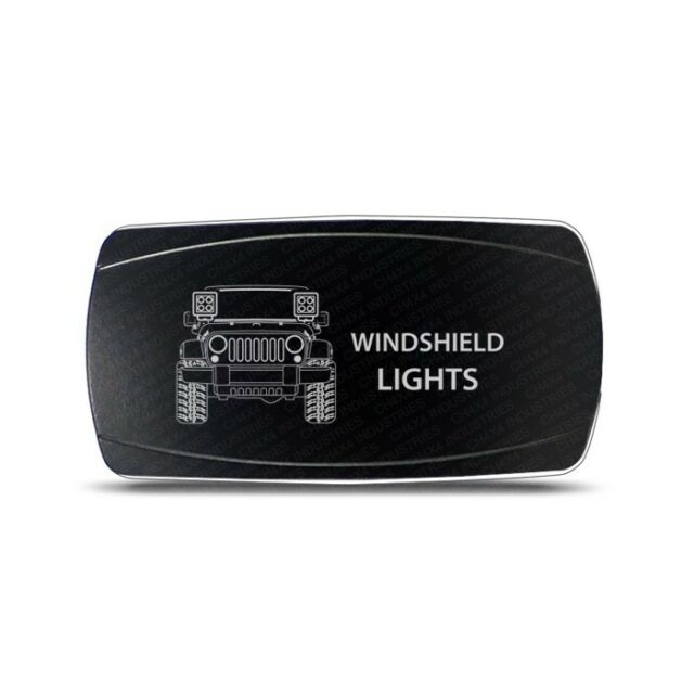 Rocker Switch Jeep Jk Windshield Lights Symbol