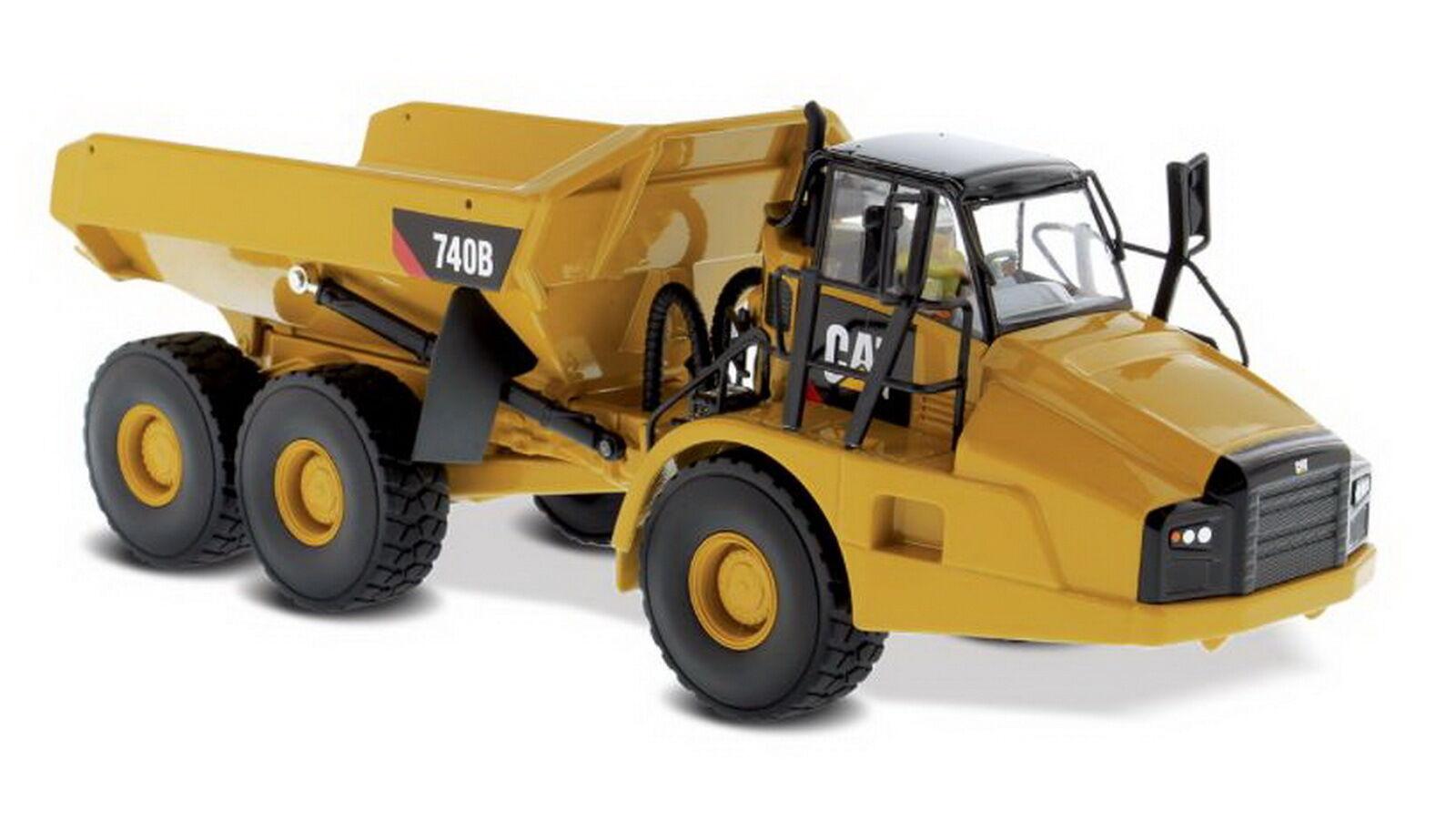 1/50 DM Caterpillar CAT 740B CAMION ARTICOLATO Modello Diecast #85501