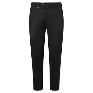 Barbati - Pantalone nero tasca a filo per uomo