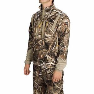 Browning Dirty Bird Soft Shell Pullover 1/4 Zip Jacket $160 Max5 Camo M/L/XL/2XL