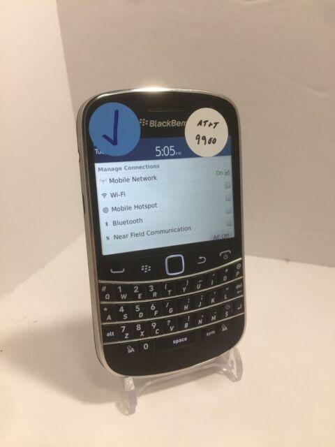 BlackBerry Bold 9900 - 8GB - Black (AT&T/GSM Unlocked) Smartphone Clean ESN