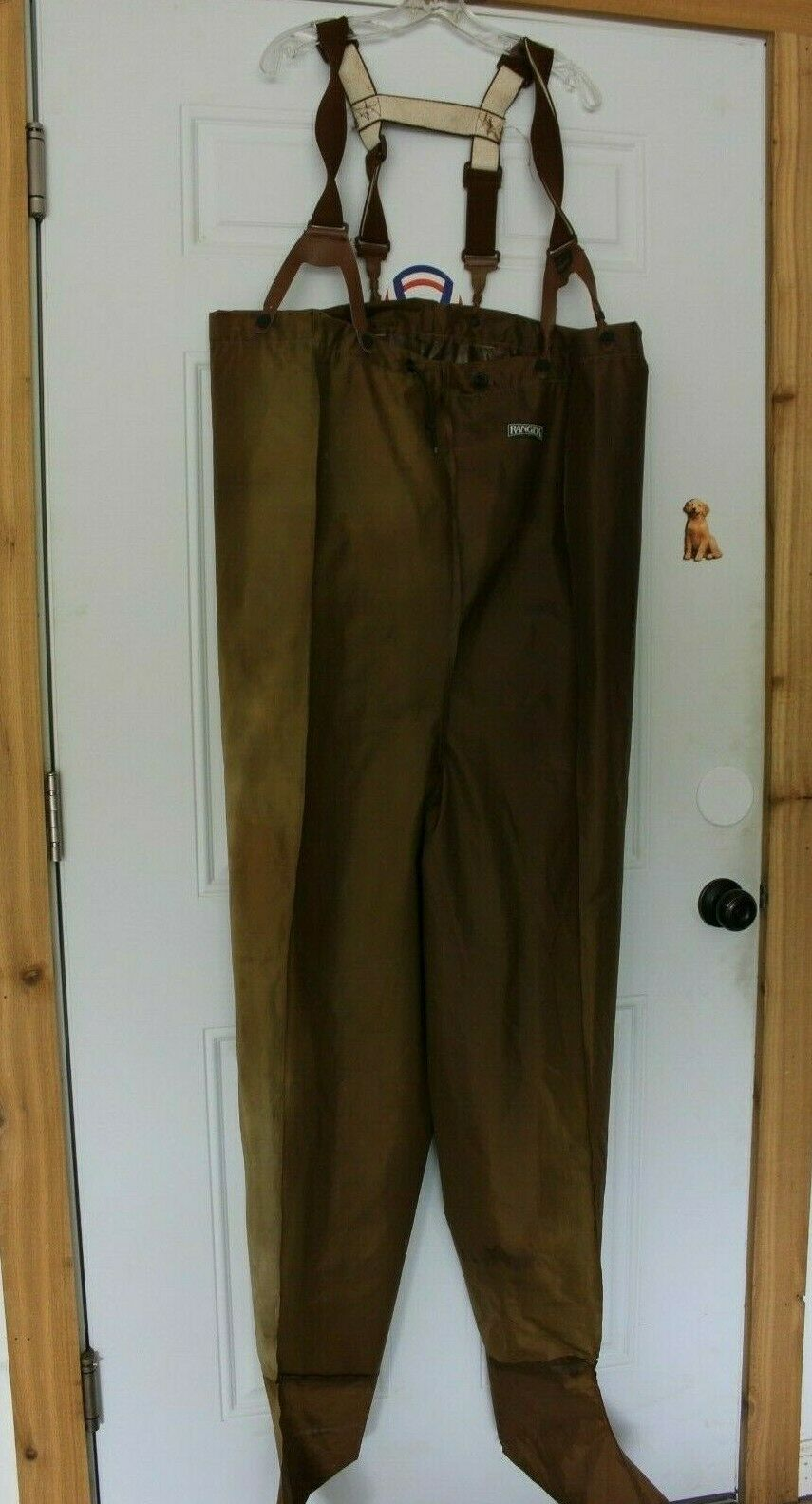 Compleat Angler Ranger fishing waders Used Large