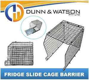 Steel Fridge Slide Barrier / Cage (810mm L x 560mm W x 625mm H