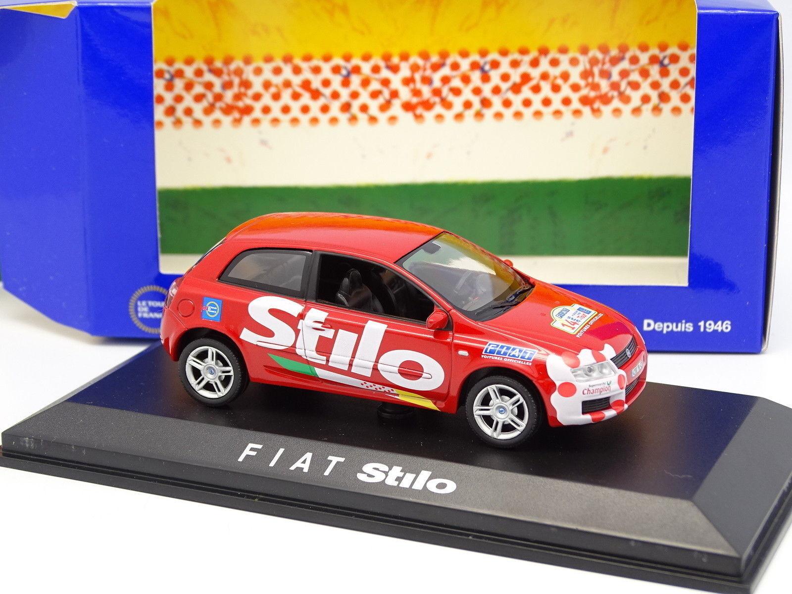 Norev 1   43 - fiat stilo auto offiziellen roten tour de france 2002