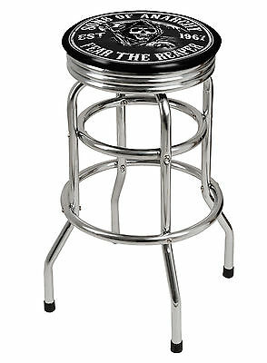 Sons Of Anarchy Premium LICENSED BAR STOOL Great for your Pool Room Man Cave