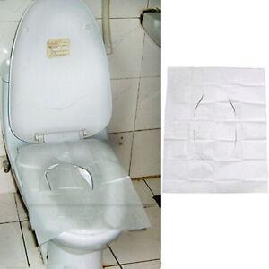 10pcs Disposable Toilet Seat Covers Flushable Paper