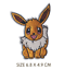 Pokemon-Embroidered-Patches-for-Embroidery-Cloth-Patch-Badge-Iron-Sew-On-Pikachu thumbnail 7