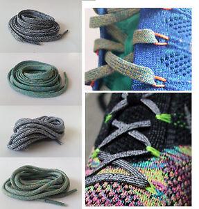 bd57773d5144 ... promo code image is loading nike id flyknit shoelace multicolor oreo  runner chukka 6d825 7b7b0