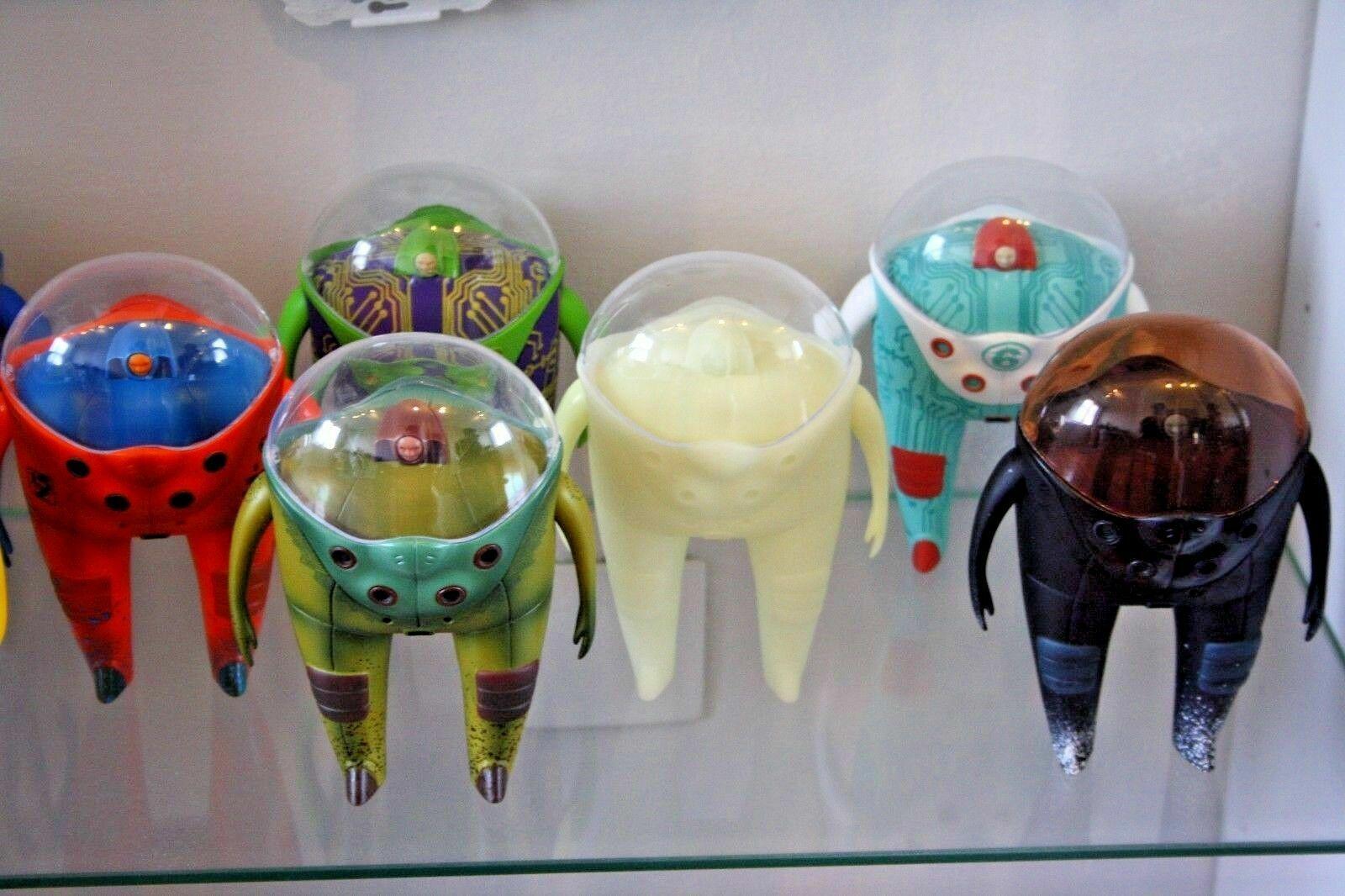 MARS-1 Berliner Berliner Berliner StrangeCo Designer Toy OBSERVER 8  SEEN Turqueiose 0efb82