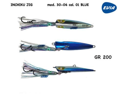 Inchiku Evia Hart Modell 30-06 Gr 200 Farbe 01 Silber Blue