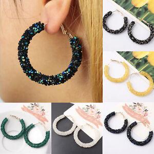 Elegant-Fashion-Women-Hook-Earrings-Crystal-Ear-Stud-Dangle-Hoops-Jewelry