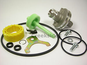 15 /& 45 TH350 700R4 Speedo Setup Kit Housing Gears Seals Retainers Speedometer