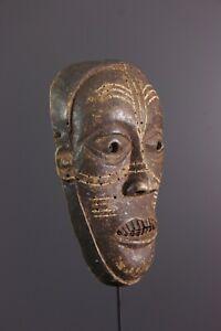 MASQUE-KONGO-AFRICAN-ART-AFRICAIN-PRIMITIF-ARTE-AFRICANA-AFRIKANISCHE-KUNST