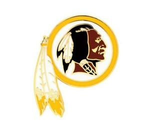 Washington-Redskins-Logo-Pin-NFL-Football-Metall-Wappen-Abzeichen-Crest-Badge