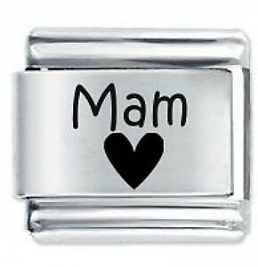 51a0cc455 Image is loading MAM-HEART-Family-Daisy-Charms-Fits-Nomination-Classic-
