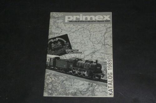 Alter Primex Händlerkatalog 1989 - Ernst Rudolf Klein - Weinheim Rarität !!!