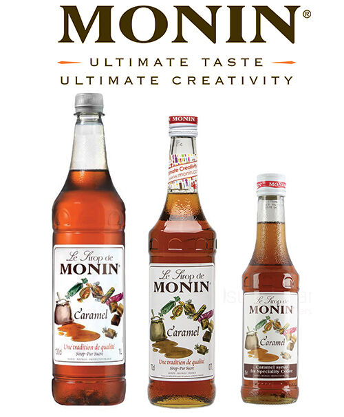 MONIN Coffee Syrups - Multiple Flavours & Sizes - AS USED BY COSTA - Authentic
