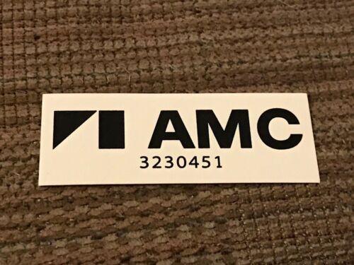 1978 1979 1980 1981 AMC AMX GREMLIN PACER HORNET DURASPARK IGNTION MODULE DECAL