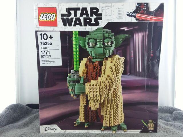 LEGO Star Wars Yoda (75255) 1771 Piece Building Toy - New/Sealed