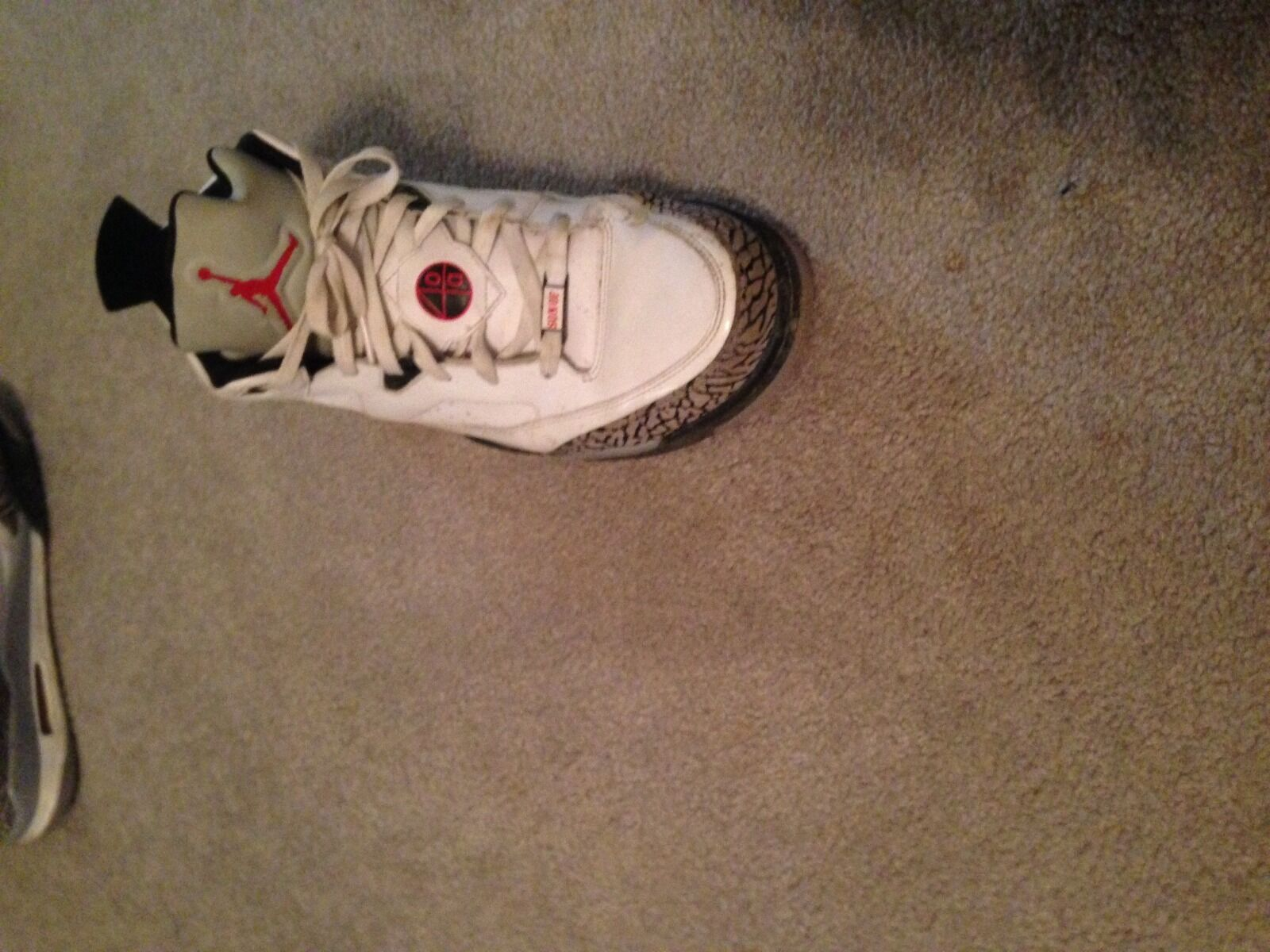 Man's/Woman's Man's/Woman's Man's/Woman's Jordan White Cement Cheap cheapest classic style 2599b9