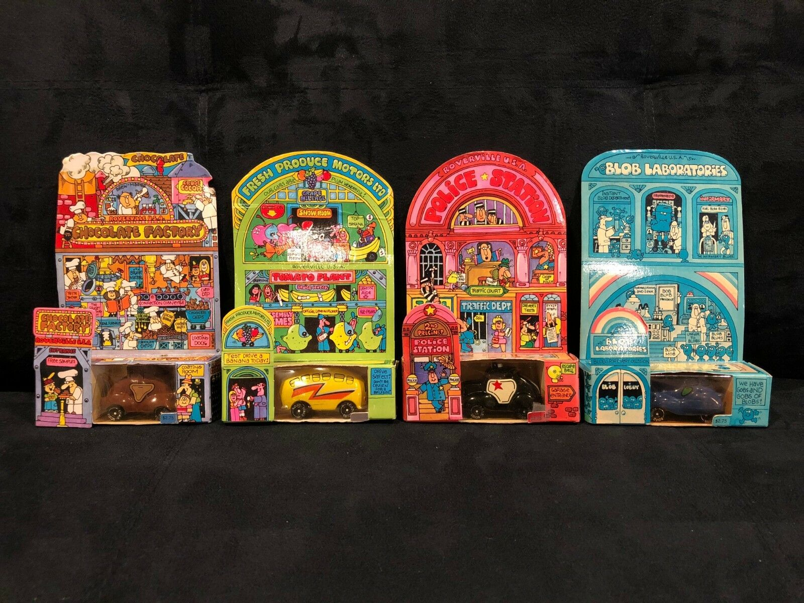 Vintage - Hallmark Road Rover Fleet - complete set of 6